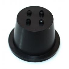 Крышка блока фары резиновая Baxster DUST COVER DC05 (53мм)