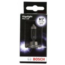 Автолампа Bosch Gigalight Plus 120% H7 55W 12V PX26d (1987301170)