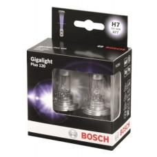 Автолампа Bosch Gigalight Plus 120% H7 55W 12V PX26d (1987301107)