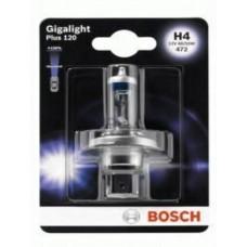 Автолампа Bosch Gigalight Plus 120% H4 60/55W 12V P43t (1987301109)