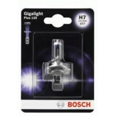 Автолампа Bosch Gigalight Plus 120% H7 55W 12V PX26d (1987301110)
