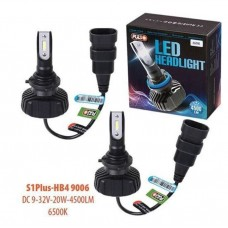 Cветодиодные лампы для авто Pulso S1 PLUS HB4 9006 20W 4500Lm 6500K