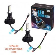 Cветодиодные лампы для авто Pulso S1 PLUS H3 20W 4500Lm 6500K