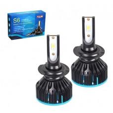 Cветодиодные лампы для авто Pulso S6 H7 33W 3600Lm 6000K