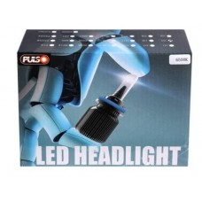 Cветодиодные лампы для авто Pulso J1 H1 20W 4000Lm 6500K