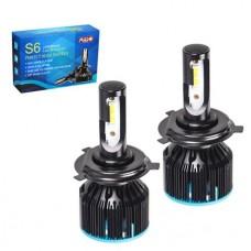Cветодиодные лампы для авто Pulso S6 H4 33W 3600Lm 6000K