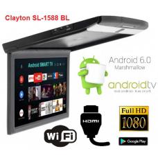 Монитор потолочный Clayton SL-1588 BL Android