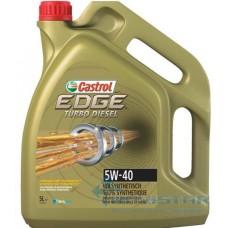 CASTROL EDGE TURBO DIESEL 5W-40 FST 5L