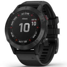 Garmin Fenix 6 Black with Black Band 010-02158-02