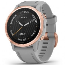 Garmin fēnix 6S Rose Gold-tone with Powder Gray Band 010-02159-21
